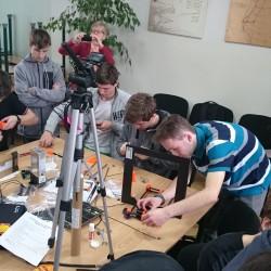 Projekt 3D Techniques – stretnutie na SPŠE Prešov